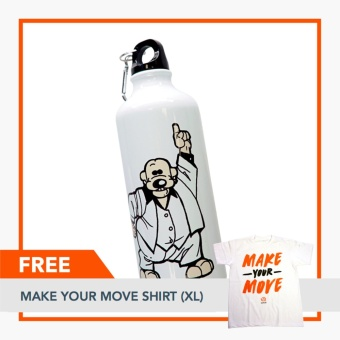 Rappler Xchange Limited Edition Pugad Baboy Tumbler - Disco PolgasFREE Make Your Move Shirt (XL) Price Philippines