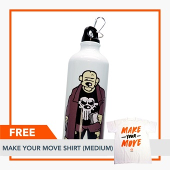Rappler Xchange Limited Edition Pugad Baboy Tumbler - The PublisherFREE Make Your Move Shirt (Medium) Price Philippines