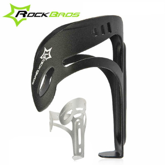 RockBros 2 Colors Aluminium Alloy Bottle Cage MTB Mountain Road Bicycle Water Bottle Holder Bike Accessories Porta Bidones Bicicleta (Intl)