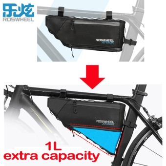Roswheel 3+1L Water Resistant Top Tube Triangle Bag Front Frame Tube Cycling Bag Mtb Bike Bicycle Bag - intl