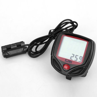 S & F New Cycling Cycle Computer Odometer Speedometer Bike - Intl - picture 2