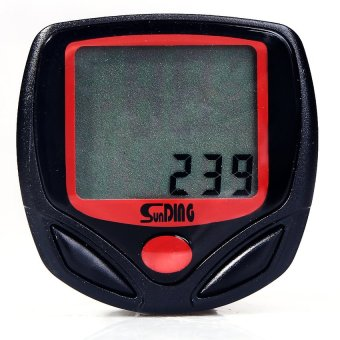 S & F New Cycling Cycle Computer Odometer Speedometer Bike - Intl