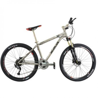 SAVA M4000 Titanium Size 27.5 Oil Brake Mountain Bike (Grey)