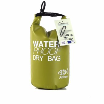 SEALHIKE Water Proof Nautical Dry Tote Bag & Tote Sack - 2LGreen