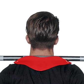 Shoulders Neck Protector Weightlifting Squat Neck Mat Fitness Brace Red (Intl) - picture 2