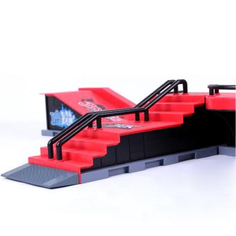 Skate Park Ramp Parts for Tech Deck Fingerboard Finger Board F - 4