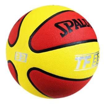 Spalding TF-33 RED/YELLOW Outdoor Basketball Size 7