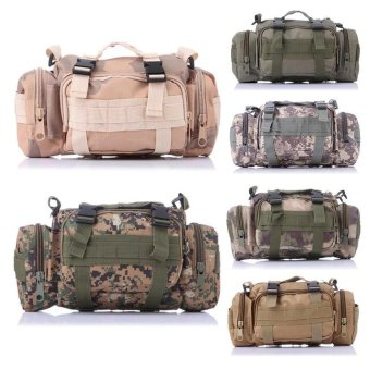 Sport Duffels Bags Camouflage Multi-functional 3P Magic Handbag Military Casual Sports Tactical Sling Bag Waist Bag with Many Pockets - intl - 2