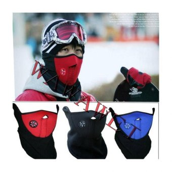 Sports Half Face Mask And Neck Protector Windbreak for bicyclemotorcycle(Red) - 4