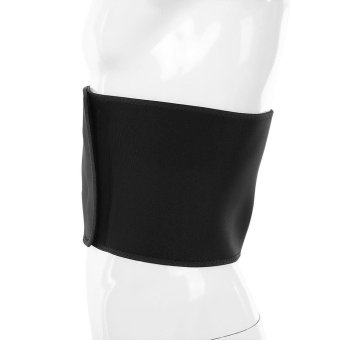 Sports Outdoors Exercise Bands Boer Sport Breathable AdjustableWaist Back Belt Support Lumbar Band Protective Gear(Black) - intl - 3
