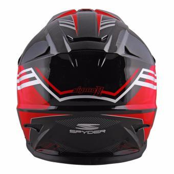 Spyder Downhill Helmet Sigma II G 362 (Black/Red)-Medium - 3