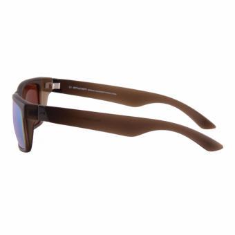 Spyder Lifestyle Eyewear Nixon 3 8B080 PZM (Matte Crystal BrownFrame/ Green Mirror Lenses) - 3