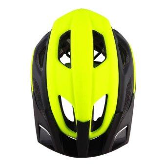 Spyder Mountain Cycling Helmet Shox 381m (Matte Black/Neon Yellow) - picture 2