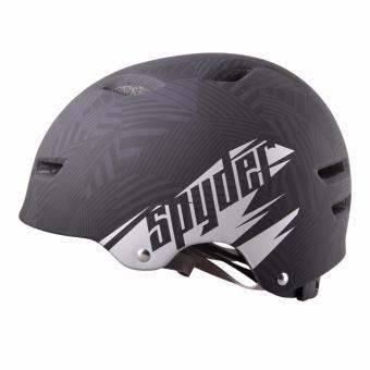 Spyder Urban Cycling Helmet Grind 351m (Matt Black/Silver) - Medium - 4