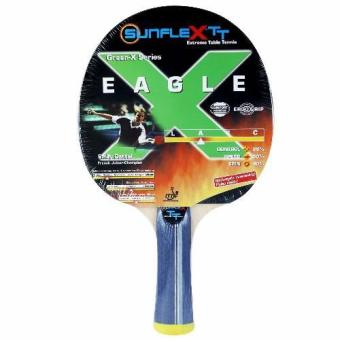 "Sunflex ""EAGLE""- Table Tennis Bat Ergo Grip Comfort Handle, ITTFrubber Price Philippines"