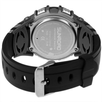 SUNROAD Sports Watch FR8204A Altimeter Barometer Thermometer ELBacklight - 3