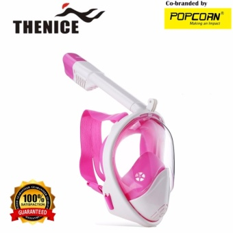 Thenice M2098G Full-Face Snorkeling Ninja Mask with Camera Holder Size S/M Price Philippines