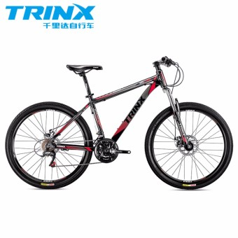 "TRINX M116 26"" Black/Red Alloy Mountain Bike"
