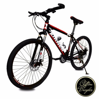 "Turner Tex650 26"" Mountain Bike Shimano Parts (Black + Red)"