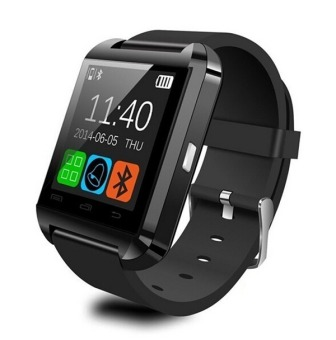 U8 Sport U Watch Bluetooth Smart Watch (Black)