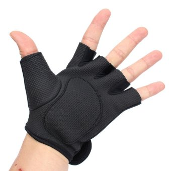 UJS Outdoor Sports Exercise Fingerless Cycling Bike Training Fitness Hunting Gloves S (Intl)