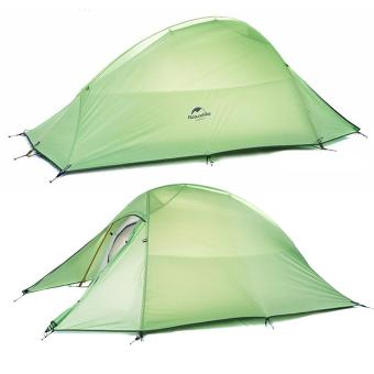 Ultralight Naturehike Fabric 2 Person Double Layers Aluminum RodTent - intl - 2