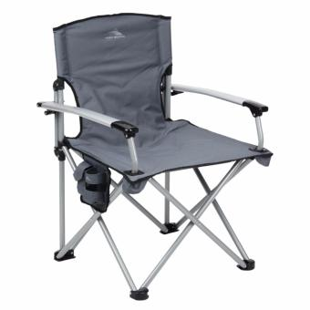 Unicorn 124614 Portable Deluxe Folding Outdoor Camping Chair (Grey)