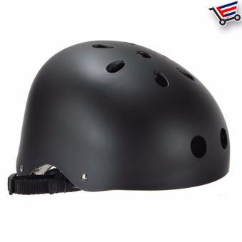 Unisex Bmx Nutshell Bike Cycling Protective Helmet (Black) Buy 1Take 1 - 5