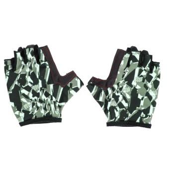 Unisex Half Finger Bike Riding Cycling Gloves Fingerless Sport Short Gloves - INTL