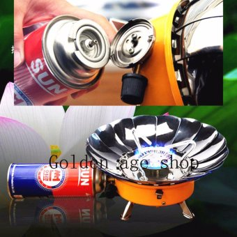 USA TOP ONE lazada and USA best selling Portable Windproof CampingButane Gas Stove