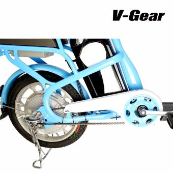 V-Gear A631 350W Electric Bicycle with TIANNENG Lithium-Ion Battery (Blue) - 5