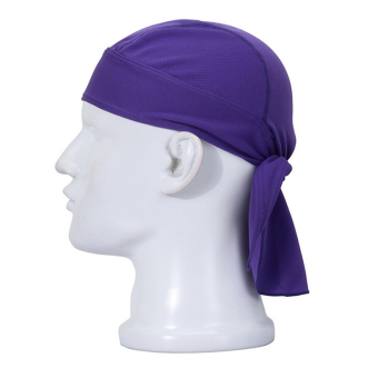 Velishy Cool Cycling Bike Bicycle Outdoor Sports Headscarf Pirate Bandana Hat 11 Colors Purple