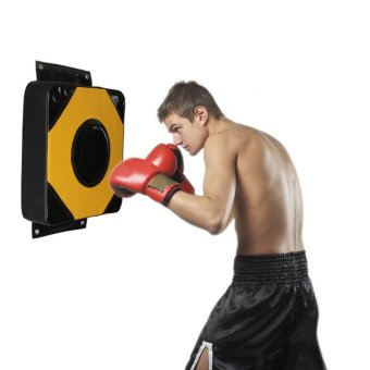 Wall Punch Pad Kick Target Training Fitness MMA Fighter Boxing BagSport Sandbag Punch Wall Punch Bag - intl