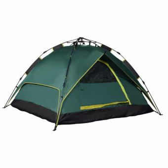 Waterproof Automatic Outdoor 6 Person Double Layer Instant C&ing Family Tent-(green?  sc 1 st  Lazada Philippines & Waterproof Automatic Outdoor 6 Person Double Layer Instant Camping ...
