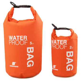 Waterproof Dry Bag Sack TRAVEL Camping Canoe Kayak Swim OutdoorSports 2L Orange