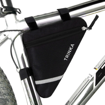 Waterproof Triangle Cycling Bike Front Tube Frame Pouch Saddle Bag - Intl - 2