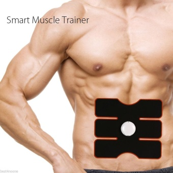 Wireless Smart Muscle Abdominal Belly Muscles Intensive Training Device Gear Abs Body Pad Sculpting Exercise Fitness Massager - intl - 4