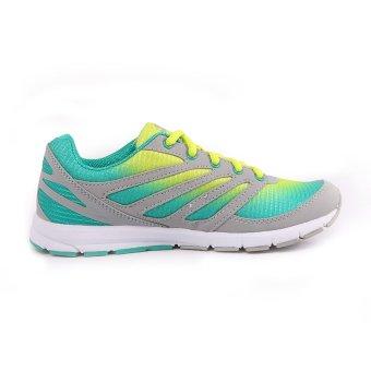 World Balance Endure L Running Shoes (Gray/Green) - 3