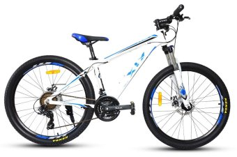 XiX X8 26 Mountain Bike (White/Black/Blue)
