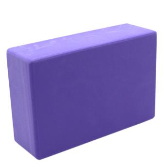 Yoga Brick Foam for Exercise and Health Fitness (Lavander) set of 2 - 5
