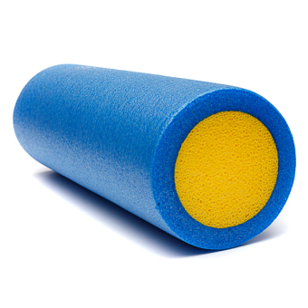 Yoga Foam Roller Pilate Massage Exercise Fitness Home Gym Smooth Surface 45cm - Intl