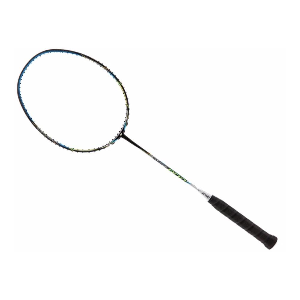 Yonex Korean Best Selling Badminton Racket Nanoray 800 with the BG 80 Gut .