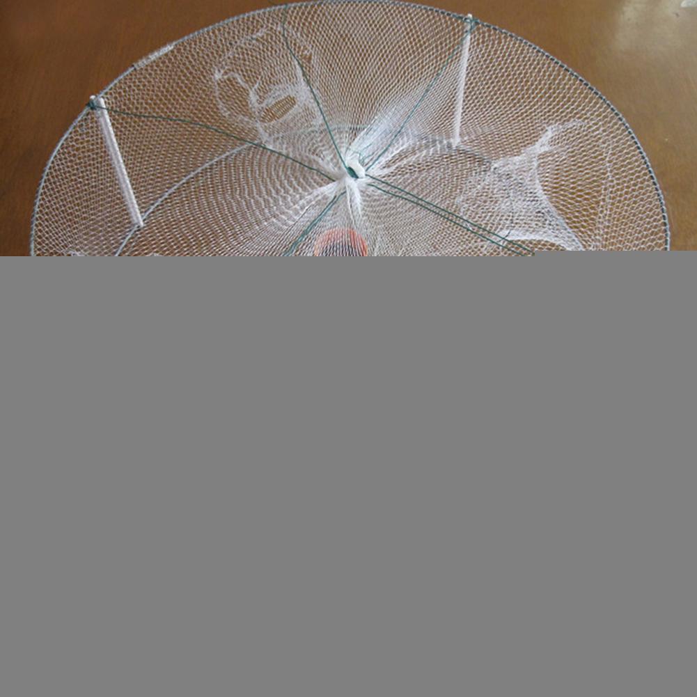 2pc Sinking Fishing Gill Nets Fish Baits Mesh Trap Casting Net for Fishermen