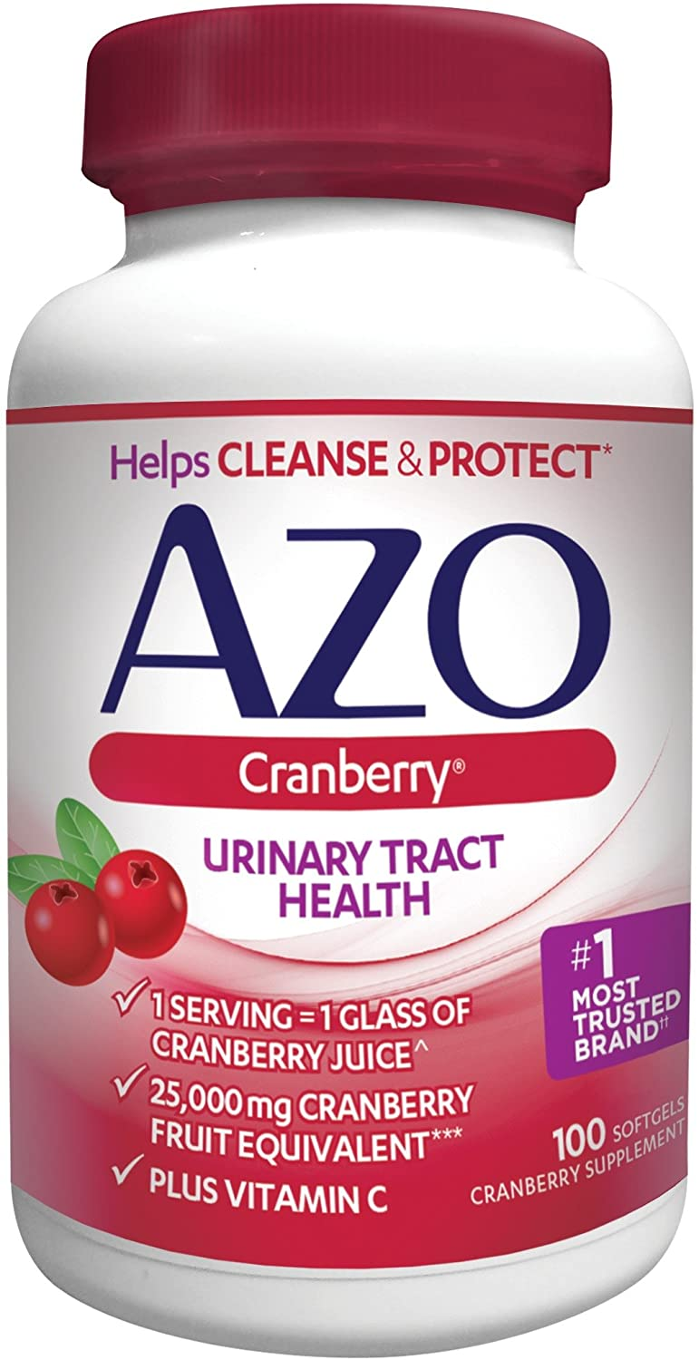 azo cranberry urinary tract health dietary supplement, 1 serving = 1 glass  of cranberry juice, helps cleanse + protect the urinary tract, sugar free,