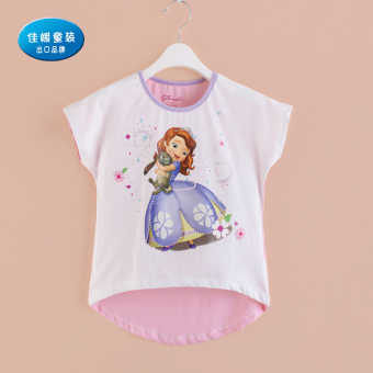 12 short sleeved children's T-shirt girls Top