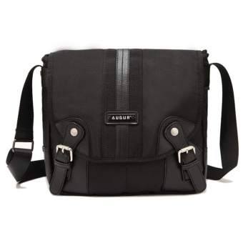 1239 Oxford Fabric Fashionable Sports Casual Messenger Bag Black -intl Price Philippines