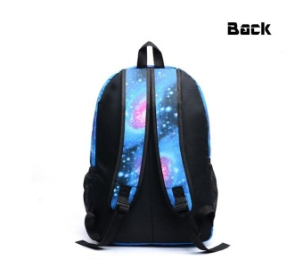 18 inches Kobe Bryant Pattern Luminous Backpack Sports School Bagsfor Teenagers Boys and Girls Starry - intl - 2