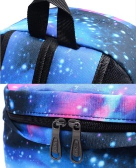18 inches Kobe Bryant Pattern Luminous Backpack Sports School Bagsfor Teenagers Boys and Girls Starry - intl - 5