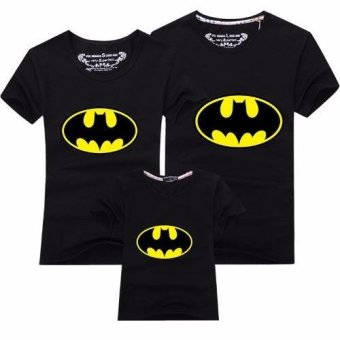 (1PC Dad Batman)Father Mother Daughter Son Outfit Family Matching Clothes Men T-Shirt - intl - 2