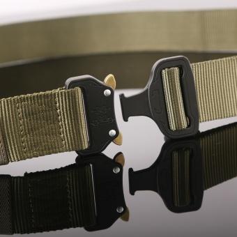 1PC Military Equipment Tactical Belt Men Casual Brand TDU ThickenNylon Adjust Metal Buckle Militar Combat Belt Male - intl - 4